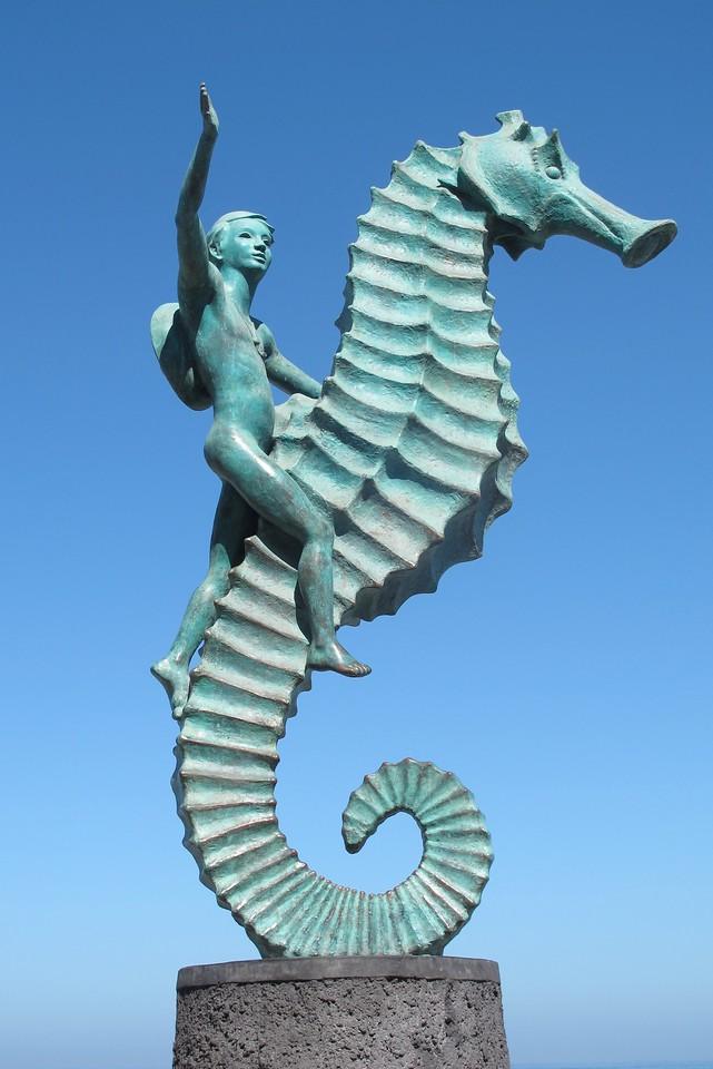 Seahorse Sculpture, Puerto Vallarta