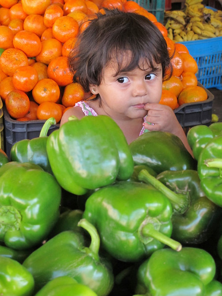 Little Girl in Market, Puerto Vallarta, JAL