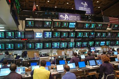 American Stock Exchange Trading Floor