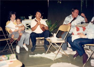 Until I saw this photo I had no idea Dad ever played the ukulele.