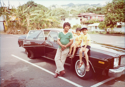 """This was our favorite family car.  My Dad put over half a million miles on this Plymouth Chevrolet using it both for us and taxi fares.  We just called it """"The Brown Car.""""  I was really sad when we finally got rid of it."""
