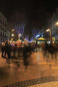 LA RAMBLA - Barcelona, Spain  Unedited.