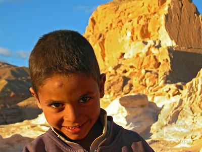 BEDOUIN BOY - Sinai Desert