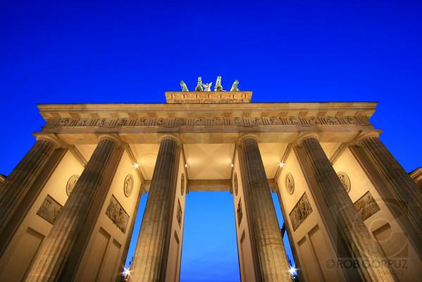 BRANDENBURG GATE - Berlin, Germany   Unedited.