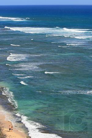 A WALK ON THE BEACH - Hawai'i, USA  Unedited.