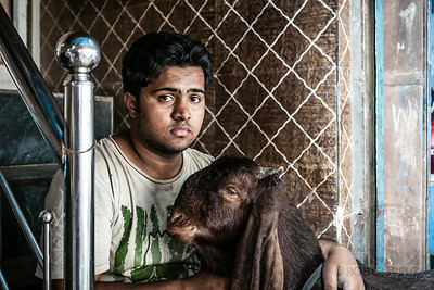 A BOY AND HIS GOAT - Delhi, India