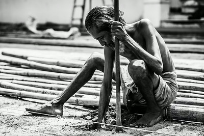 WORKING HARD - Cochin, India