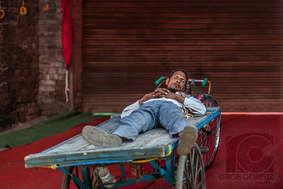 NAPPING - Agra, India