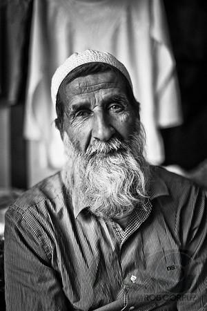 A MAN AT THE MARKET- Jerusalem, Israel