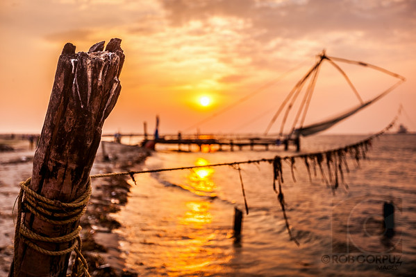FISHING NET - Cochin, India