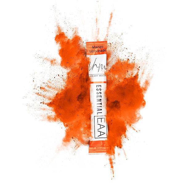 Product Powder Cloud in Orange