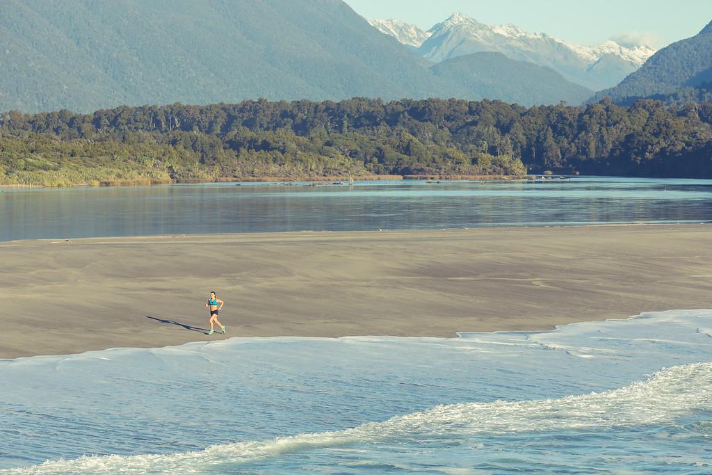 Morning Run in New Zealand