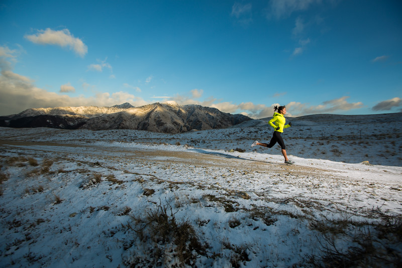 Snowy Run - New Zealand