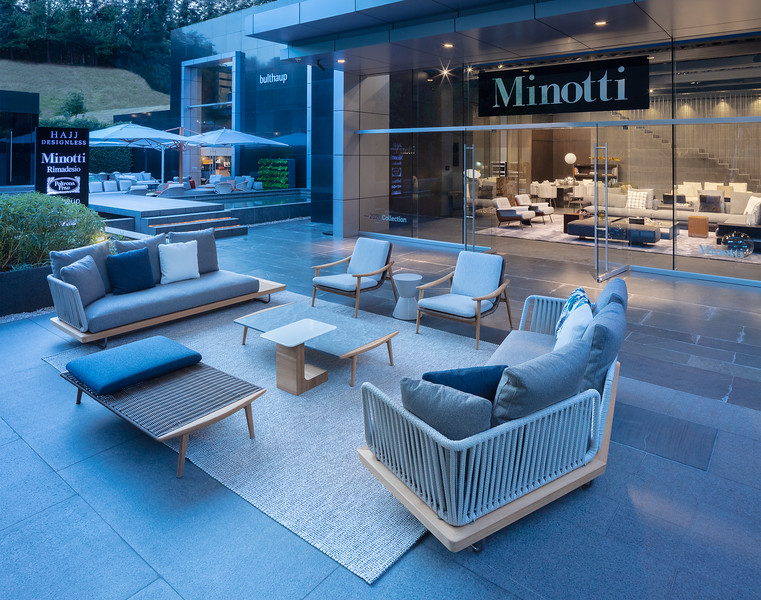 Hajj Designless Showroom Mexico City  | Minotti Outdoor