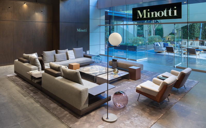 Hajj Designless Showroom Mexico City  | Minotti