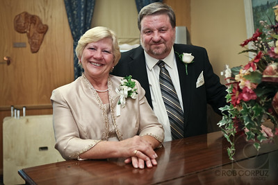 Mom and Dad of the Bride.