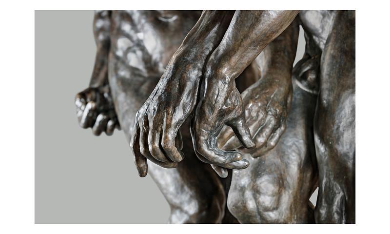 Three Shadows Detail | Auguste Rodin