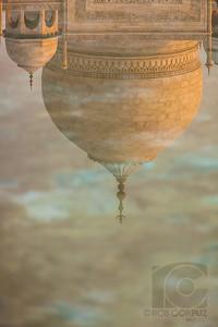 POOL REFLECTION OF TAJ MAJAL - Agra, India