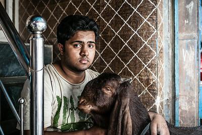 A BOY AND HIS GOAT - Delhi, India