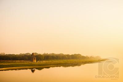 VIEW FROM TAJ MAHAL - Agra, India