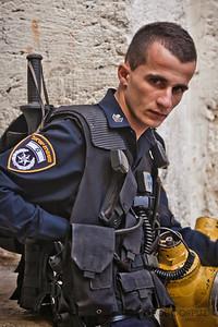 ISRAELI POLICE OFFICER - Jerusalem, Israel