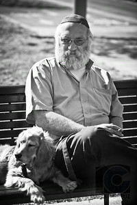 A MAN AND HIS DOG - Tel-Aviv, Israel