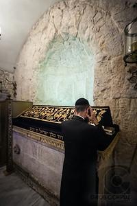 A MAN PRAYS - Jerusalem, Israel