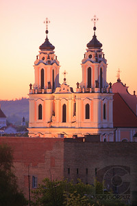 CHURCH OF ST. CATHERINE AT SUNRISE  - Vilnius, Lithuania  Unedited.