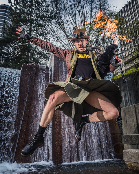 "THE HERO PORTLAND DESERVES - Portland, Oregon, USA<br /> <br /> This is Brian, AKA ""The Unipiper,"" AKA ""The Defender of Weird.""  When he's not riding a unicylce while wearing a mask while playing flaming bagpipes, he's also the host of @PDXatTheMovies, and you can find out more about him, and how he keeps Portland weird, at the links below:<br /> <br /> <a href=""http://www.unipiper.com/"">http://www.unipiper.com/</a><br /> <a href=""https://www.facebook.com/theunipiper/"">https://www.facebook.com/theunipiper/</a><br /> <a href=""https://www.instagram.com/theunipiper/"">https://www.instagram.com/theunipiper/</a><br /> <a href=""https://twitter.com/TheUnipiper"">https://twitter.com/TheUnipiper</a>"
