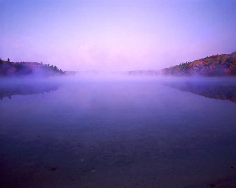 Walden Pond At Sunrise