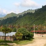 Village d'Oventic dans les montagnes du Chiapas.