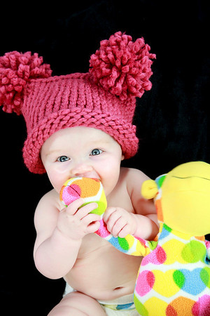 Frances Izabel 6 month-2