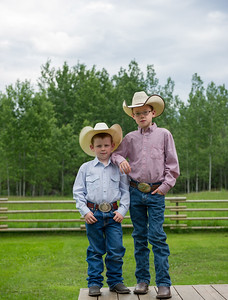 Two Young cowboys