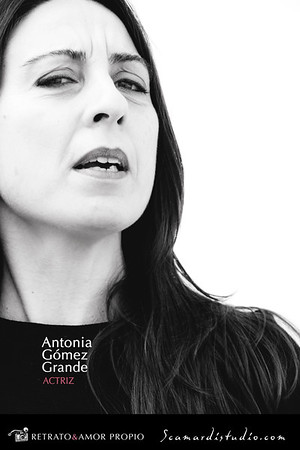 Antonia Gómez Grande. Actress