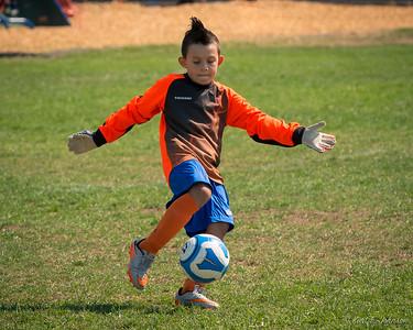 Dylan's Soccer Game 9-10-2016