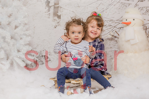 Lacey & Holly Winter Wishes Photoshoot