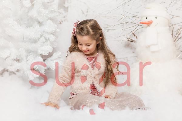 Mia's Winter Wishes Phototshoot