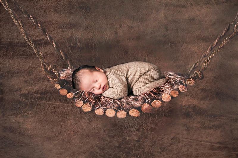 Elijah in hammock