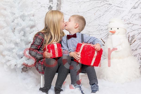 Poppy & Grayson's Winter Photoshoot
