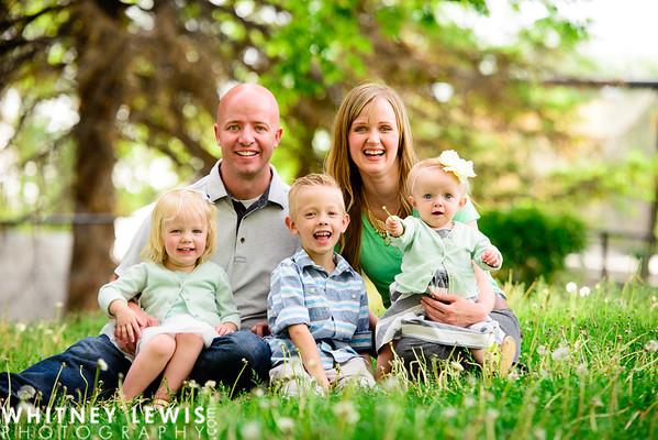 Garner Family MINI SESSION (Liberty Park)