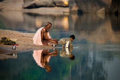 The Morning Water Prayer - India