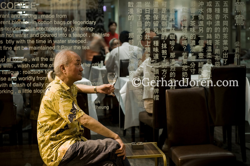 Lau Kin Wai, restauranteur, Hong Kong