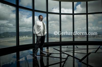 Kristoffer Luczak, chef, at Crown Macau
