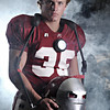 "Hartselle's Blaze Lawrimore.<br /> From the ""IRONMEN"" portrait series."