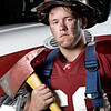 "Hartselle's Austin Borden.<br /> From the ""Blue Collar Football Players"" series."