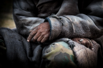 Working Hands At Rest - Mongolia
