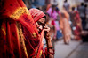 Red Scarf - India