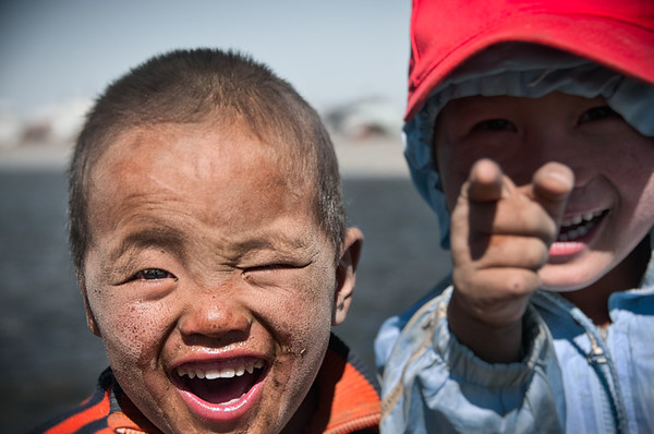Laughing On The Steep - Mongolia