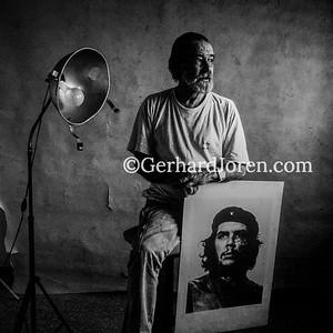 Alberto Korda, photographer, Havana