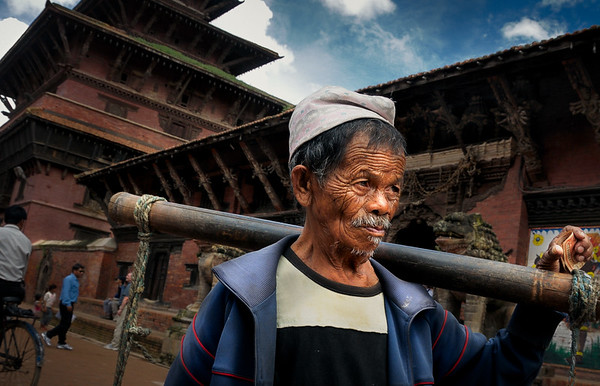 The Water Carrier - Nepal
